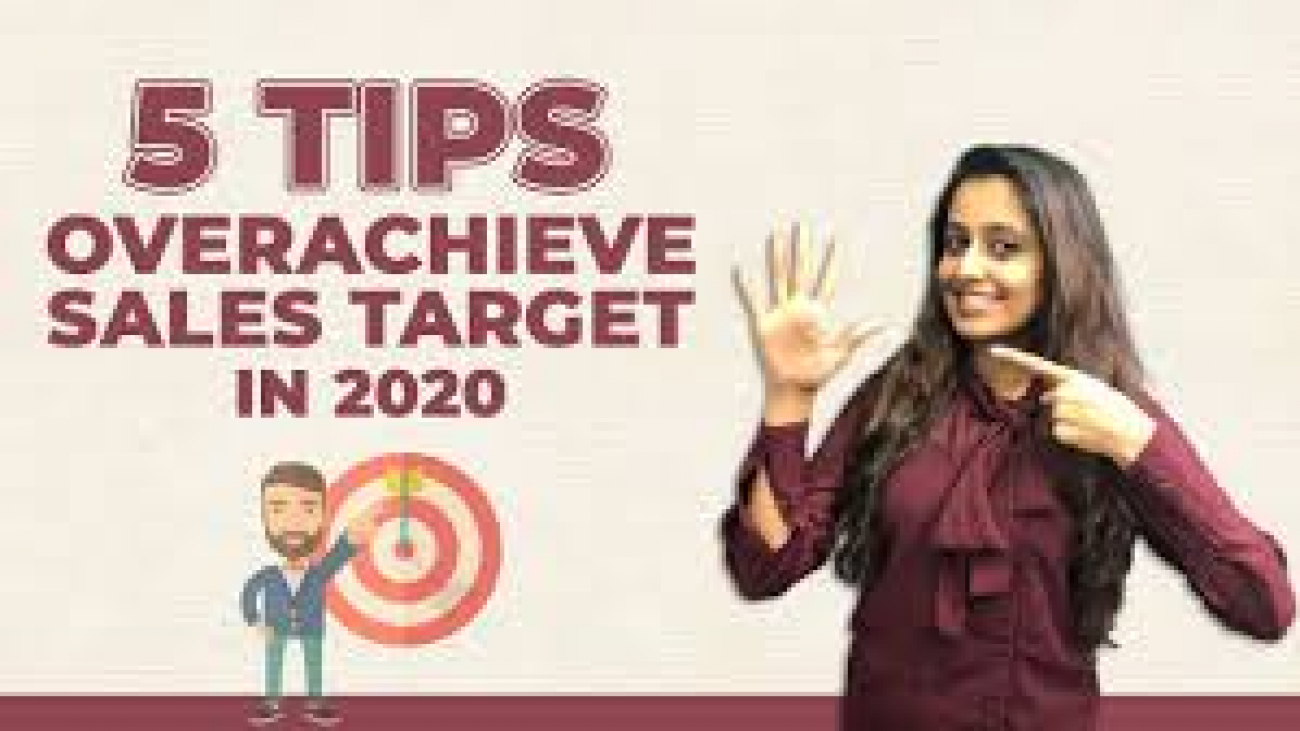 How to OVERACHIEVE SALES TARGET in 2020 | Dhara Rajpara | WHDC